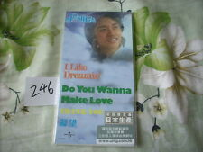 """a941981 Leslie Cheung 張國榮 Made in Japan 3"""" Paper Back CD EP I Like Dreaming + Do You Wanna Make Love 4-track Limited Editon No. 246"""