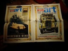 "Magazine ""France Routes"" Ancien Camion Mercedes Daimler Benz Pub Art"