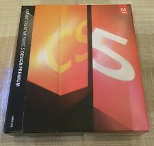 Adobe Creative Suite 5 CS5 Design Premium MAC OS X Photoshop Acrobat Illustrator
