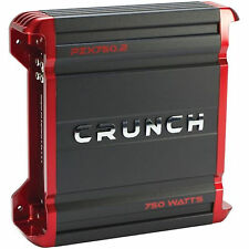 Crunch PZX750.2 2-channel Powerzone Series 2 Car Amplifier 750W Peak Power