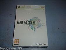 FINAL FANTASY XIII EDITION COLLECTOR XBOX 360 NEUF SOUS BLISTER (envoi suivi)