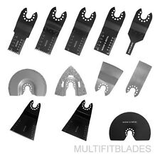 Porter Cable Old Original Compatible 12pc Oscillating Multi-Tool Blade Kit
