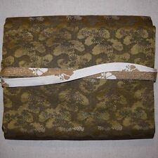 """""""Meiji Pine"""" Vintage Japanese Nagoya Obi Belt and Obijime Set"""