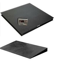 """Pallet Scale 48""""x48"""" Floor Scale 2500 x 0.5 lb,Digital Indicator, with 1 Ramp"""