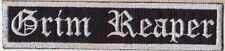 GRIM REAPER EMBROIDERED PATCH CLASSIC HEAVY METAL NWOBHM SAMURAI Metal Negro