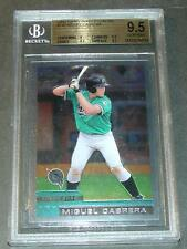 2000 TOPPS CHROME TRADED MIGUEL CABRERA ROOKIE BGS 9.5  SUBS 9,9.5,9.5,9.5 PSA
