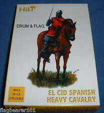 HAT 8213-EL CID SPANISH HEAVY CAVALRY - in scala 1/72 in plastica