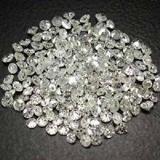 White Diamond 100% Natural Single Cut 2 Pcs 1.00 mm G-H Color VS gtc
