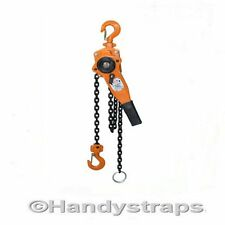 500Kg  0.5 ton Lever Hoist Block  ratchet winch pull lift 1.5 metre