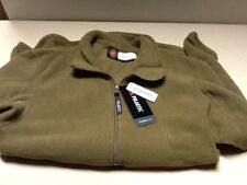 USMC POLARTEC 100 COYOTE BROWN PULLOVER FLEECE SHIRT SMALL MILITARY SURPLUS