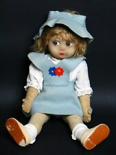 Jugendstil Puppe mit Original Kleidung um 1900