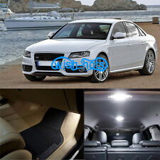 17Pcs Durable LED Package Interior White Light  Kit For 1998-2001 Audi A4 S4 B5