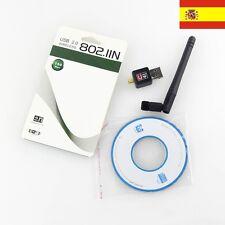 MINI ADAPTADOR USB WIFI 150MBPS WIRELESS 802.11  MTK WlanU ref53