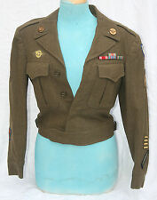 WW2 American 9th USAAF Ike Jacket With Matching Pants Dated 1944