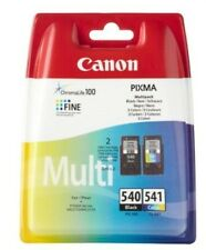 Genuine Canon PG540XL Black & CL541XL Colour Ink Cartridges For PIXMA MX475