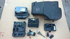 PEUGEOT 407 2.0HDI AUTOMATIC RHR ECU SET BSM BSI IGNITION KEY 2004