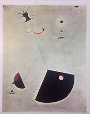 SYMBOLIC JOAN MIRO HAND SIGNED SIGNTURE * MOTHERHOOD * PRINT W/COA