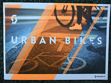 BRAND NEW~SCOTT 2015 URBAN, ELECTRIC E BIKES & HELMETS 28 GLOSSY PAGE CATALOGUE