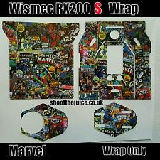 Wismec S MODEL RX200S * MARVEL wrap only . fast uk postage �� REAL UK SELLER