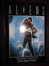 ALIENS by Alan Dean Foster (1986, HC Hardcover / DJ dust jacket)             ...