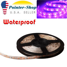 5M LED Flexible Light Strip Pink 5050 SMD 600LEDs DC 12V Waterproof Motor Trucks