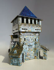 Building UPPER TOWER War Games Terrain Landscape Scenery Middle Ages 25-28 mm