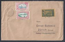 1938 Guadeloupe Cover - Trois-Rivieres to Switzerland