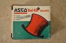 "New ~ ASCO RED-HAT THT8320A85 ~ 1/4"" NPT ~ 120 VAC 60Hz ~ 110 VAC 50Hz"