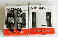 Aican Road bike brake Super Light holder shoes catridge for Shimano Black, 2 pc