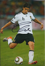Sami KHEDIRA Autograph 12x8 Photo AFTAL COA German World Cup Real Madrid