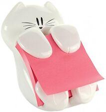 Post-it Cat Figure Pop-up Note Dispenser, 3 Inch X 3 Inch, (CAT-330)