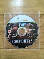 Call Of Duty 3 Para Xbox 360 * disco solamente *
