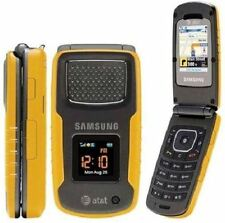 NEW SAMSUNG RUGBY II SGH-A837 - YELLOW - 3G, GPS, CAMERA, AT&T (UNLOCKED) USA