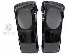 CVO Stytle Vivid Black 6 x 9 Saddlebag Speaker Lids for Harley Touring models