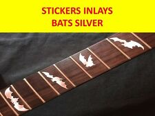 STICKER INLAY BATS SILVER FRET MARKERS VISIT OUR STORE WITH MANY MORE MODELS