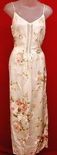 ~~JESSICA McCLINTOCK GUNNE SAX Beautiful Vintage Ivory Satin Dress 10 12 M/l~~