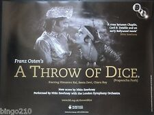 A THROW OF DICE ORIGINAL 2007 BFI QUAD POSTER SEETA DEVI HIMANSU RAI F OSTEN