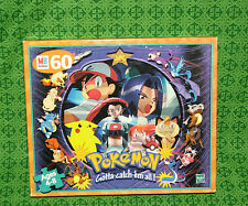 New Pokemon Jigsaw Puzzle Hasbro 1999 With Ash Misty Team Rocket and More