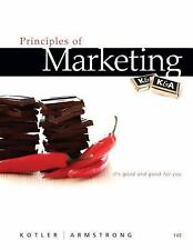 Principles of Marketing (14th Edition), Philip Kotler, Gary Armstrong, , Book, G