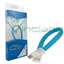 Cavo corto filo piatto AS-MC510 microUSB per Samsung Galaxy Tab s2 9.7 T810