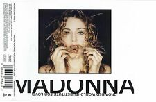 MADONNA - DROWNED WORLD (SUBSTITUTE FOR LOVE) 1998 INLAY SLEEVE ONLY W0453CD2