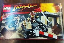 New LEGO Indiana Jones Motorcycle Chase 7620 - Free US Shipping