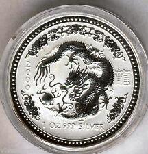 Australia 2000 1 dollaro 1 oncia argento puro Calendario asiatico Anno Dell'