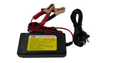 1.5A charger for 24V sealed lead-acid batteries with Alligator Clips