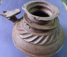 18th century Tribe Antique IRON pot used to serve OPIUM to Guest on ceremonies