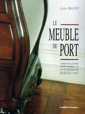 Meuble de port - Furniture of the ports, French book