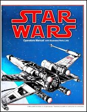 Star Wars Arcade Video Game FULL Service & Repair Operations Manual Troubleshoot