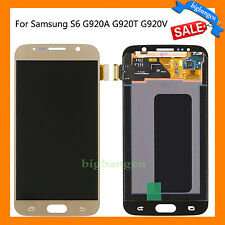 LCD Screen Digitizer Assembly For Samsung Galaxy S6 G920A G920T G920F G920V Gold