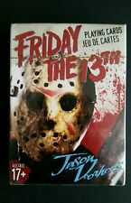 Friday The 13th Playing Card Deck Jason Voorhees Misprint Box Sealed New