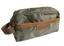 Penguin by Munsingwear Men's Travel Toiletry Shave Kit Charger Bag Olive NWT $50